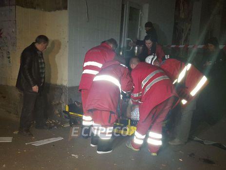 При взрыве вКиеве погибли два человека