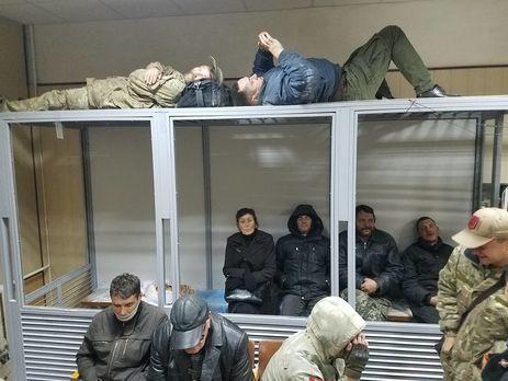 3-х участников беспорядков вСвятошинском суде отправили под домашний арест