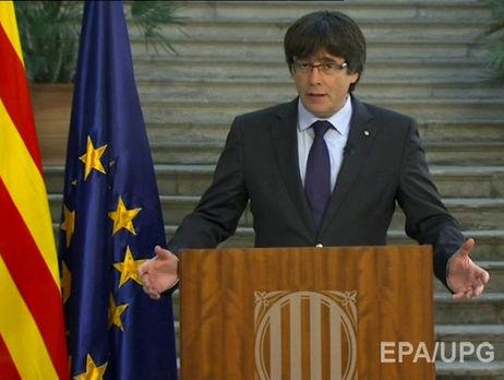 Президент Каталонії відмовився визнавати рішення Мадрида про свою відставку