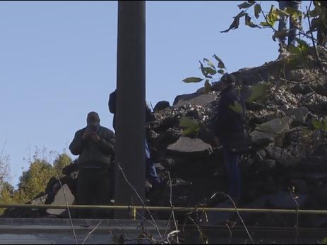 Милиция опровергает захват воинской части