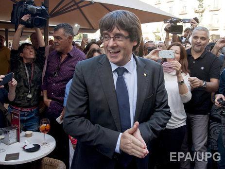 Лидеру автономистов обещали приют вевропейском государстве— Независимость Каталонии
