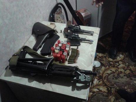ВПолтавской области устранили сеть сбыта оружия ибоеприпасов