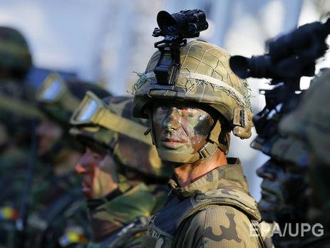 Министр обороны Эстонии открыл новые казармы для военнослужащих НАТО