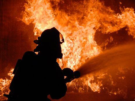 Пожар охватил корпус санатория вОдессе