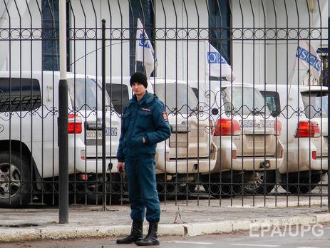 Наблюдатели ОБСЕ под Донецком обнаружили около 50 танков