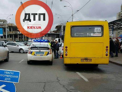 Поліція затримала водія маршрутки, який збив насмерть подружжя пенсіонерів вКиєві