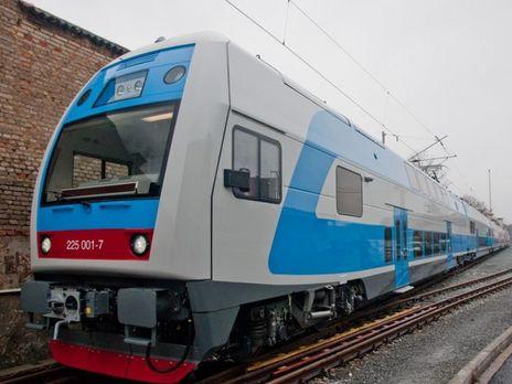 «Укрзалізниця» запустила двухэтажный поезд изТернополя встолицу Украины