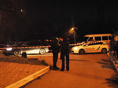 ВХарькове ночью расстреляли автомобиль сводителем