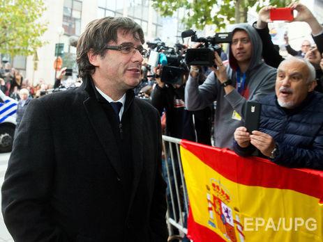Головний сепаратист Каталонії і його соратники вийшли насвободу