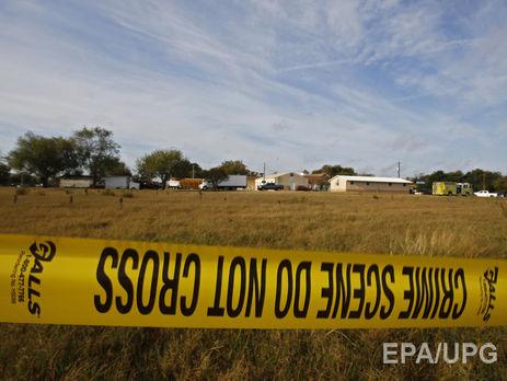 Масове вбивство вцеркві Техасу: причиною стрілянини міг стати сімейний конфлікт
