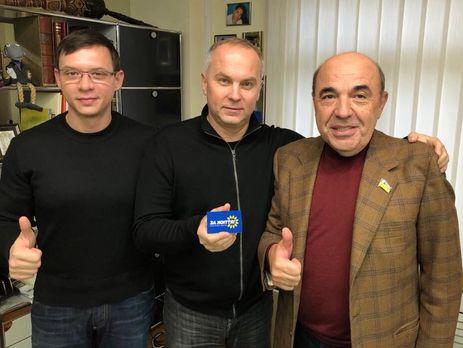 Шуфрич вступил впартию Рабиновича