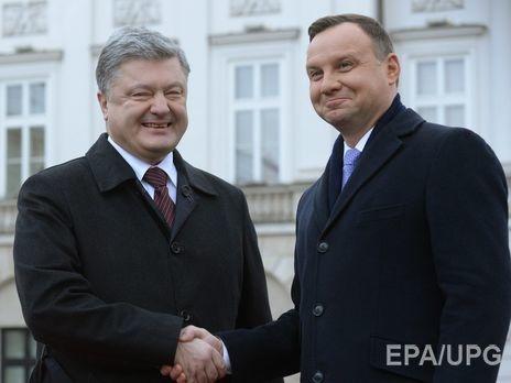 Порошенко наследующей неделе встретится спрезидентом Польши Дудой