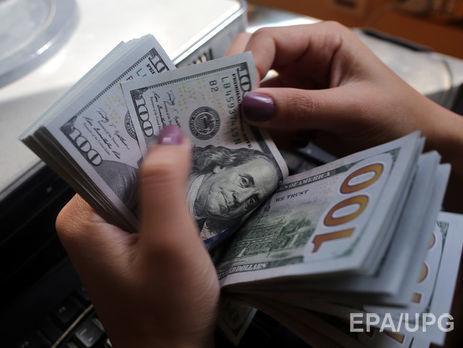 Доллар вначале рабочей недели вобменниках упал до26,78 грн