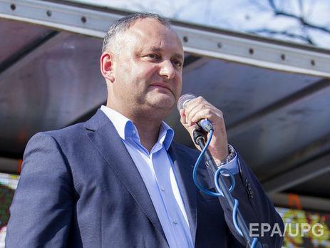 Додон заявил, что армия Молдове не нужна