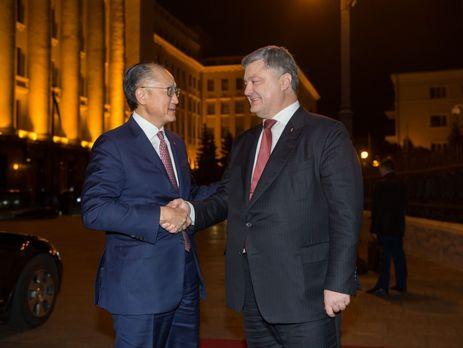 Порошенко и президент Всемирного банка обсудили реализацию украинских реформ