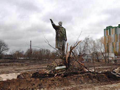 В Киеве обнаружили последний уцелевший памятник Ленину