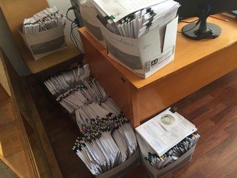 В НАПК уничтожают документы, которые могут быть доказательствами противоправной деятельности сотрудников