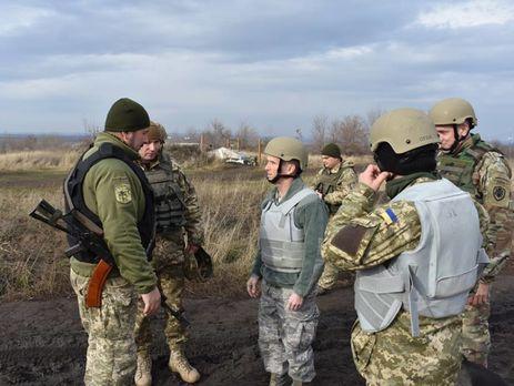 Военная делегация США посетила зону «АТО» наДонбассе