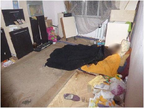 ВКиеве женщина вквартире месяц прятала труп матери (18+)
