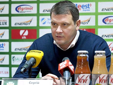 «Карпати» звільнили тренера Зайцева задва місяці після призначення— ЗМІ