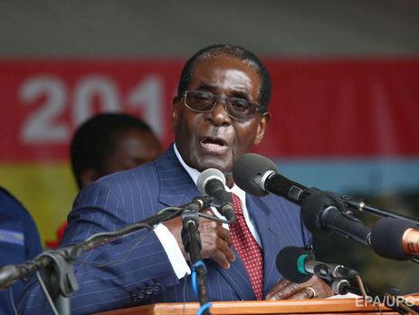 У Зімбабве запустили процедуру імпічменту «друга Путіна» Мугабе