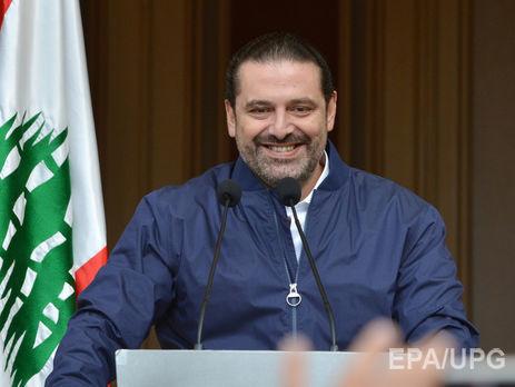 Прошлый  премьер Ливана Харири посетит Египет перед возвращением домой