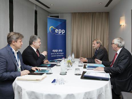 ЕСпродлит программу макрофинансовой помощи Украине— Порошенко
