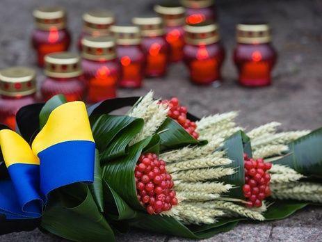 НаСумщине вандалы повредили монумент жертвам Голодомора