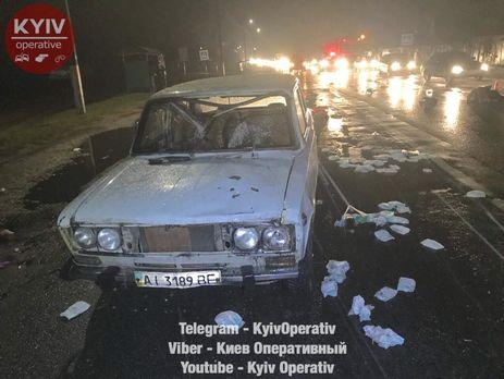 ДТП под Киевом: неизвестный насмерть сбил двоих и исчез