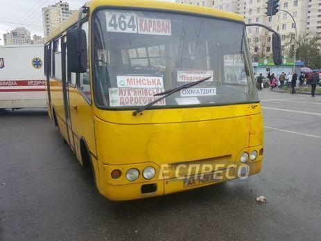 40% киевских маршруток работают нелегально — ВКГГА констатировали