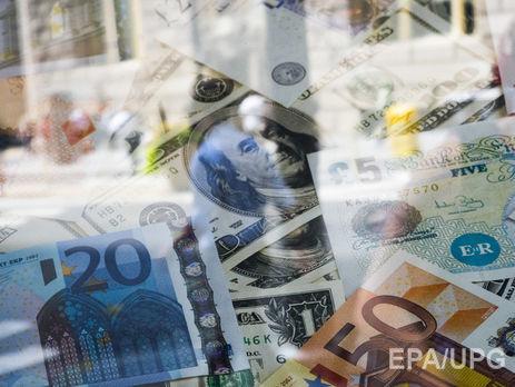 Официальный курс гривни кдоллару снова пробил отметку 27 грн