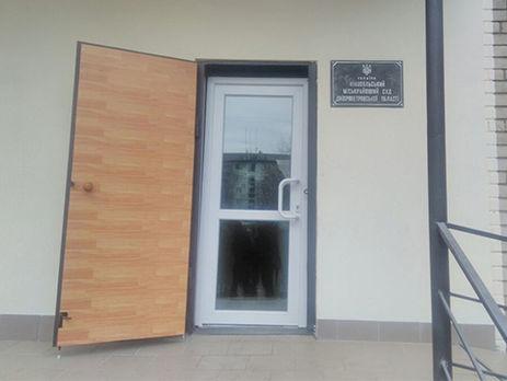 9dcd8661c1a6 ... только поверхностно осмотрел при входе правоохранитель, сообщила  пресс-секретарь полиции Днепропетровской области Анна Старчевская.