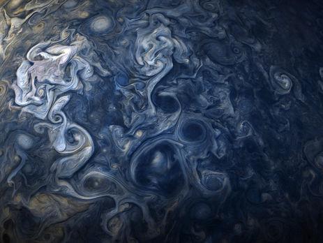 NASA опубликовало фотокарточку  облаков наЮпитере