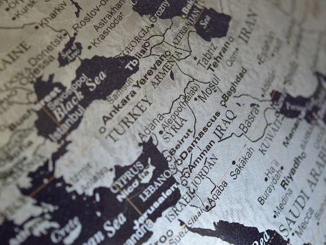 ВЧехии выпустили карты с«российским» Крымом