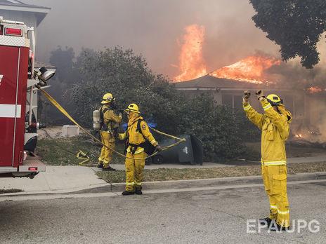 Из рискованных зон эвакуированы неменее 180 тыс. человек— Пожары вКалифорнии