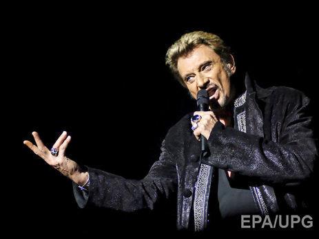 Ушел изжизни легенда французского рока Джонни Холлидей
