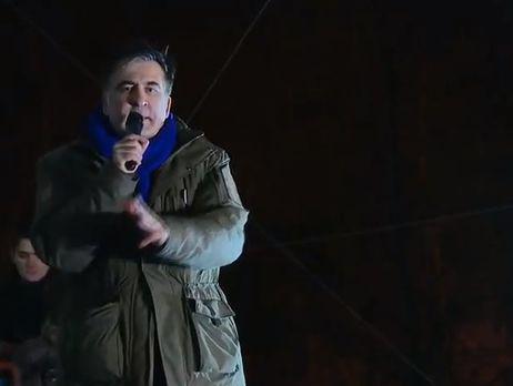 Саакашвили: Когда Порошенко лишил меня гражданства, я потерял где-то килограммов 30