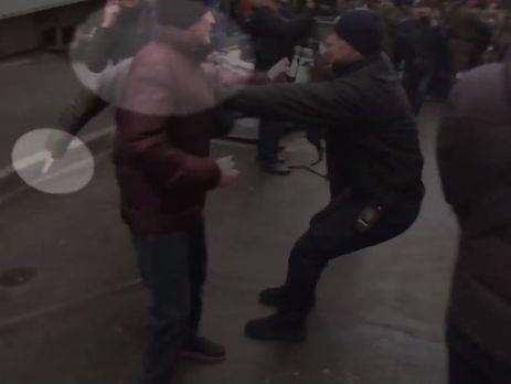 В МВД заявили, что во время беспорядков у дома Саакашвили задержали