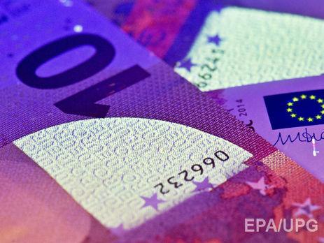 Гривня до євро подорожчала до 32,03 грн/€