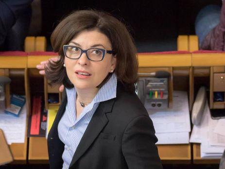 Сыроид заявила, що антикорупційний комітет Ради будуть використовувати для знищення антикорупційних органів
