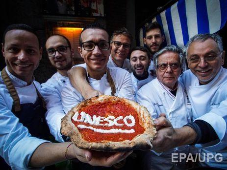Неаполітанська піца потрапила усписок спадщини ЮНЕСКО
