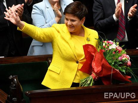 Шидло возглавила правительство Польши в 2015 году