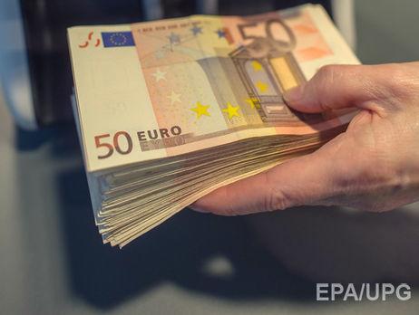 Курс гривні до євро зміцнився до 31,96 грн/€