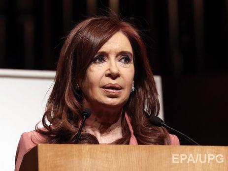 Экс-президента Аргентины обвинили в госизмене
