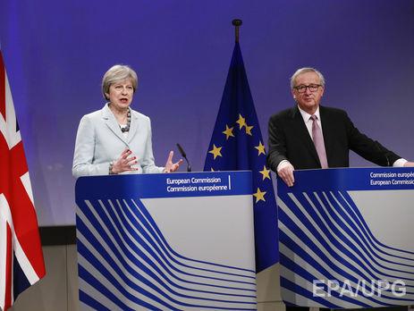 Юнкер заявил, что прогресса, достигнутого на переговорах по Brexit, достаточно для перехода ко второму этапу
