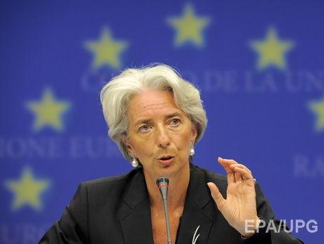 Лагард заявила про необхідність зберегти і посилити незалежність антикорупційних органів в Україні