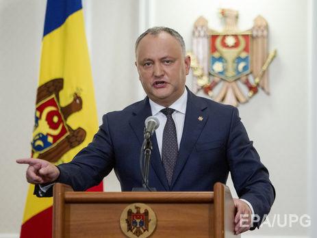 Додон обеспокоен возникновением вКишиневе бюро связи сНАТО