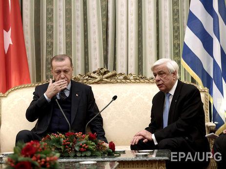 Эрдоган заговорил опересмотре границ Турции, Греция возражает