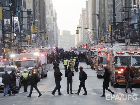 При взрыве наавтовокзале вНью-Йорке пострадали 4 человека
