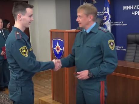 Харьковские курсанты трудоустроились в«МЧС ДНР»